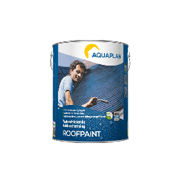 Aquaplan Roofpaint Anthraciet 5L | Waterafstotende renovatielaag