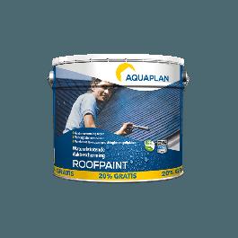 Aquaplan Roofpaint Anthraciet 10L+20% | Duurzame waterafstotende renovatielaag