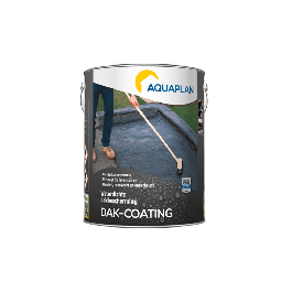 Aquaplan Dak-coating 5Kg | Soepele bitumineuze renovatiecoating
