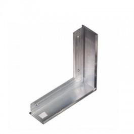 Aquaplan Buitenhoek 35 mm 20 cm x 20 cm | Aluminium dakrandafwerking