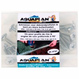 Aquaplan Schroeven voor dakrandprofielen | Zelfborende schroeven
