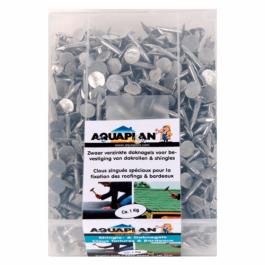 Aquaplan Shingle- & Dak nagels 1 Kg | Zwaar verzinkte daknagels
