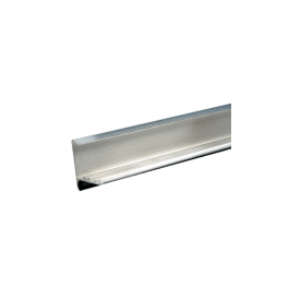 Aquaplan Dakrandprofiel 35x35 mm lengte 1 m | Aluminium dakrandafwerking