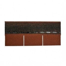 Aquaplan Easy-Shingle Standard 2 m² rood | bitumineuze leien