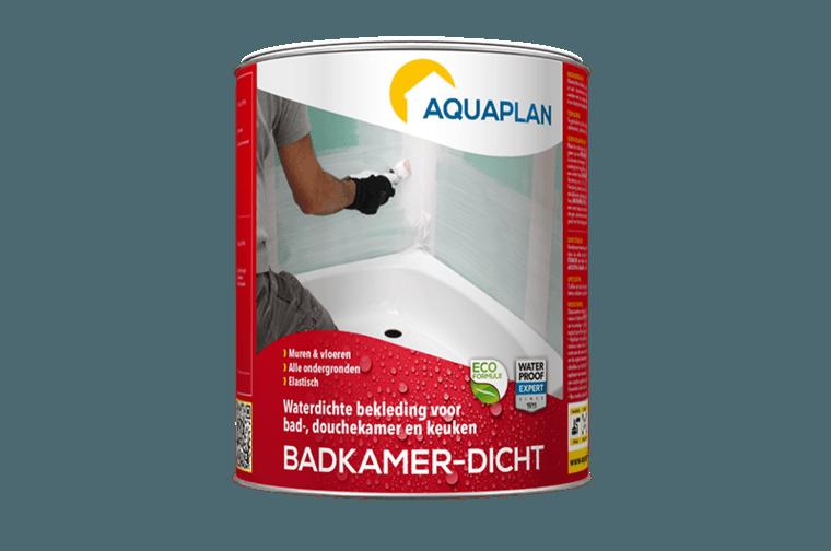 Badkamer dicht l waterdichte coating aquaplanshop