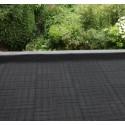 Aquaplan Rubber Dak- & Draintegel zwart 1 m²