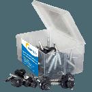 Aquaplan Aqua-Pan schroef 40 stuks antraciet